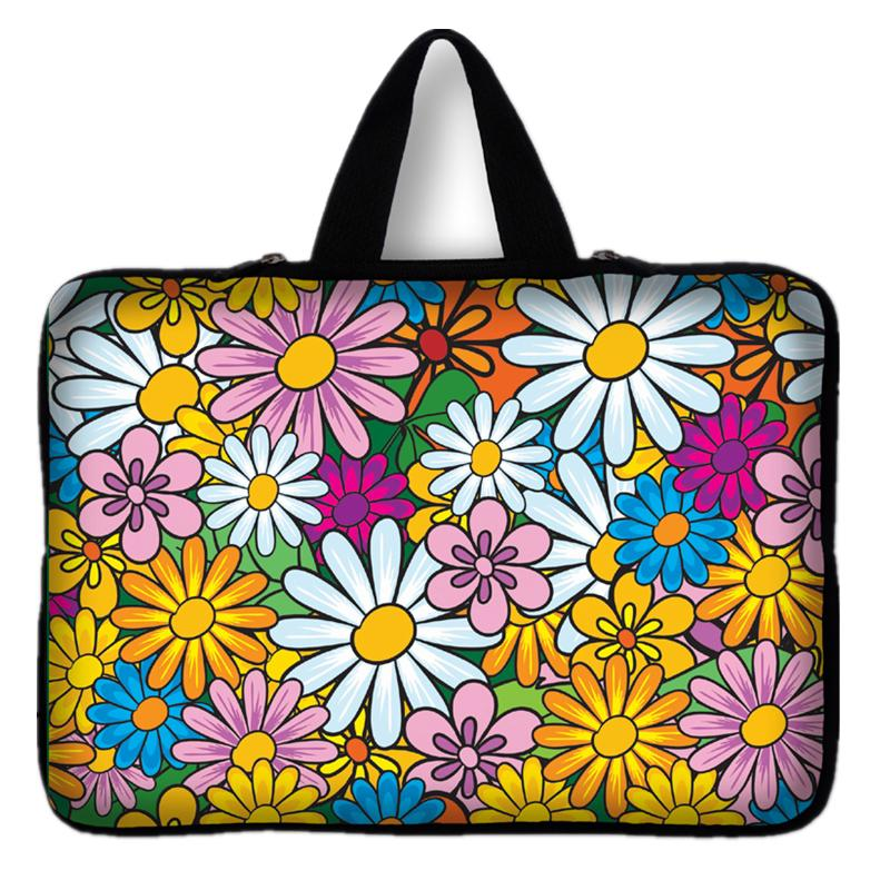 7 10 12 13 14 15 17 inch sunflower sleeve case carry handbag for laptop tablets notebook soft cover 13.3&39;&39; 15.6 computer bag