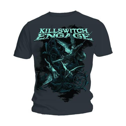 Killswitch Meşgul &39;Battle&39; T-Shirt-YENI & RESMI!
